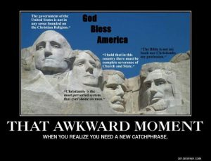 Awkward Moment God Bless America