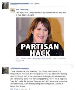 Like If You Think Candy Crowley Is A Partisan Hack