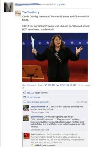 Candy Crowley Interrupted Romney 28 Times
