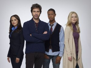Cast of Perception on TNT