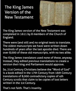 Truth behind the King James New Testament