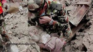 Nepal Earthquake Baby Rescued 2