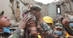 Nepal Earthquake Baby Rescued