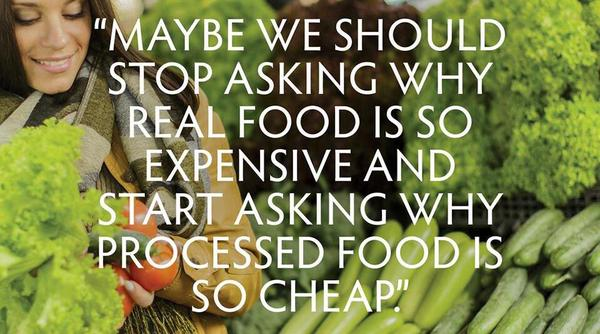 """Why Is """"Processed Food"""" So Cheap? A Stupid Question Answered."""