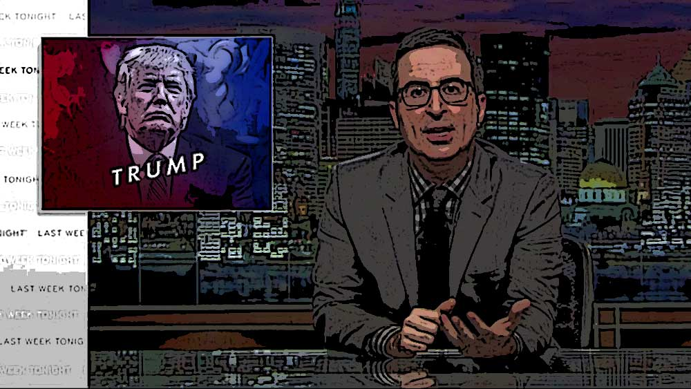 John Oliver and Make Donald Drumpf Again